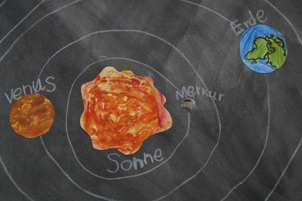 planetele sistemului solar pentru copii